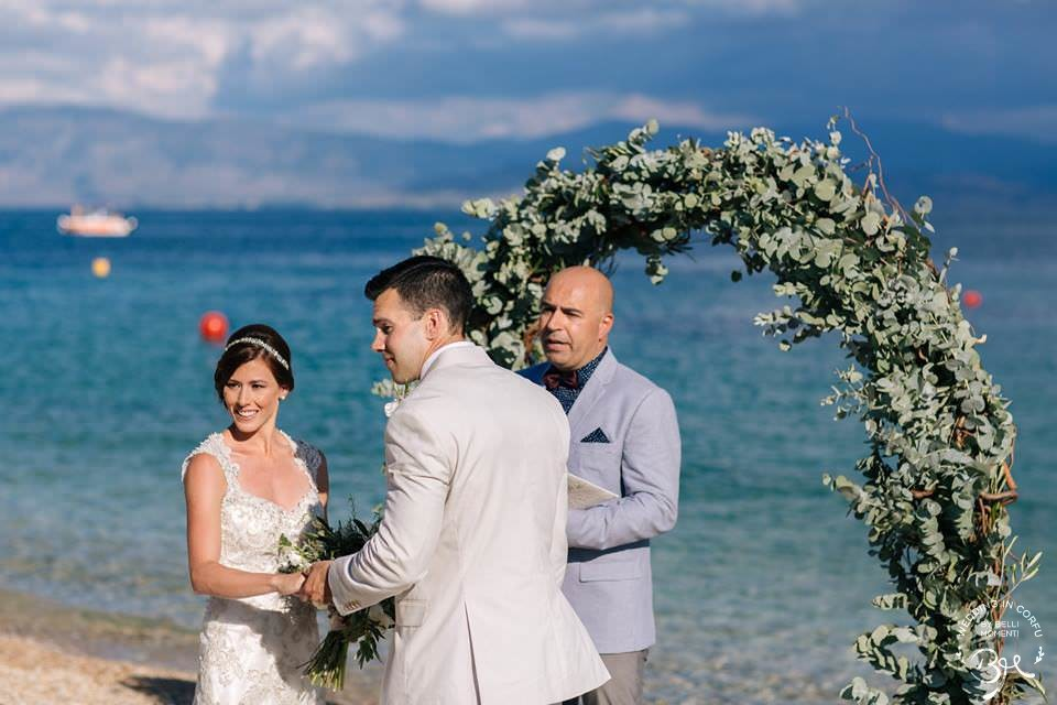 Corfu Beach Wedding