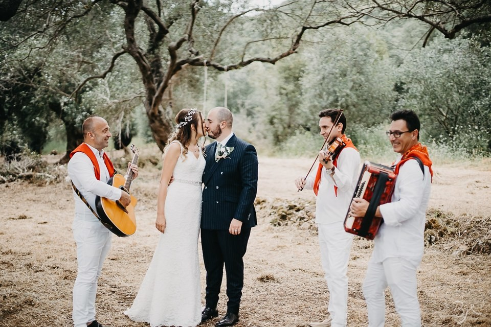 Corfu Wedding in Olive Grove