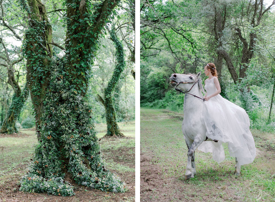 Forest Wedding Corfu
