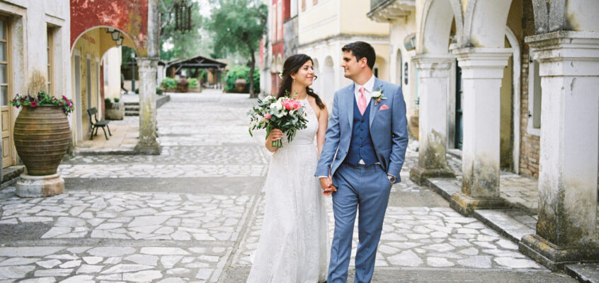 FILMSET DESTINATION WEDDING IN CORFU || AMANDA & ALEX