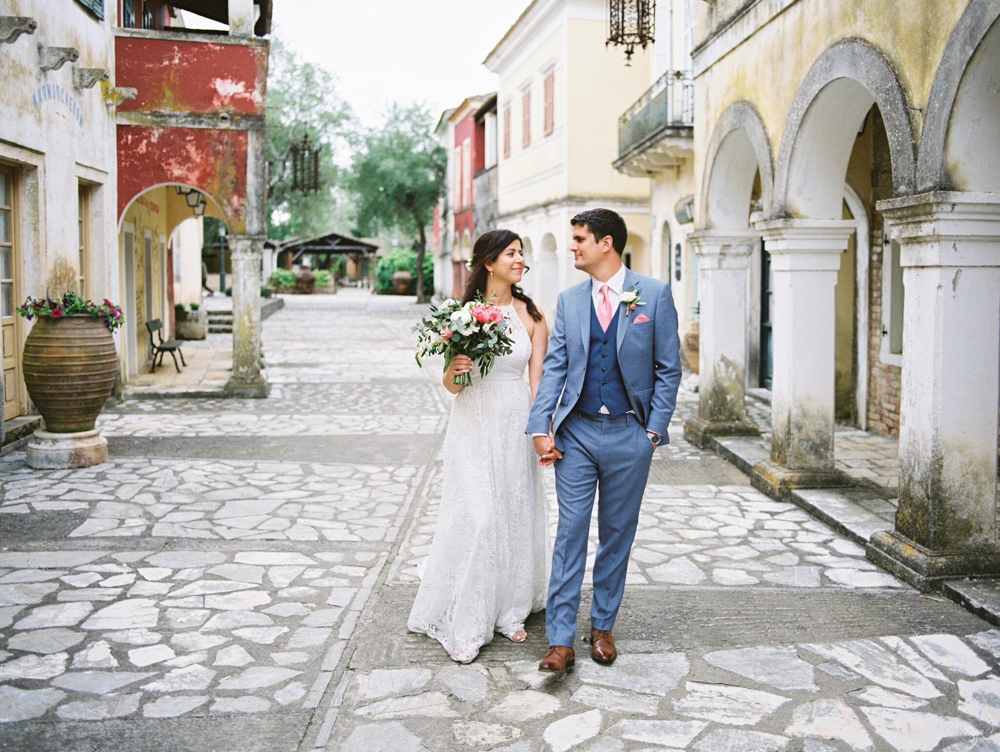 FILMSET DESTINATION WEDDING IN CORFU