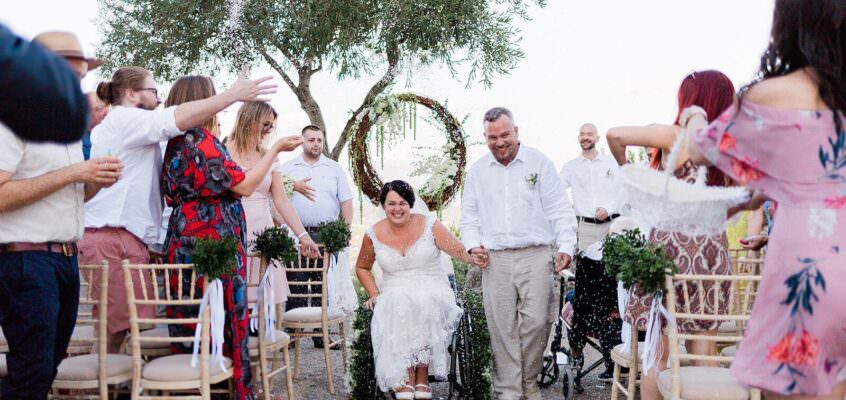 AN ALL-ROMANTIC WEDDING IN CORFU AT THE ICONIC KAIZER'S THRONE