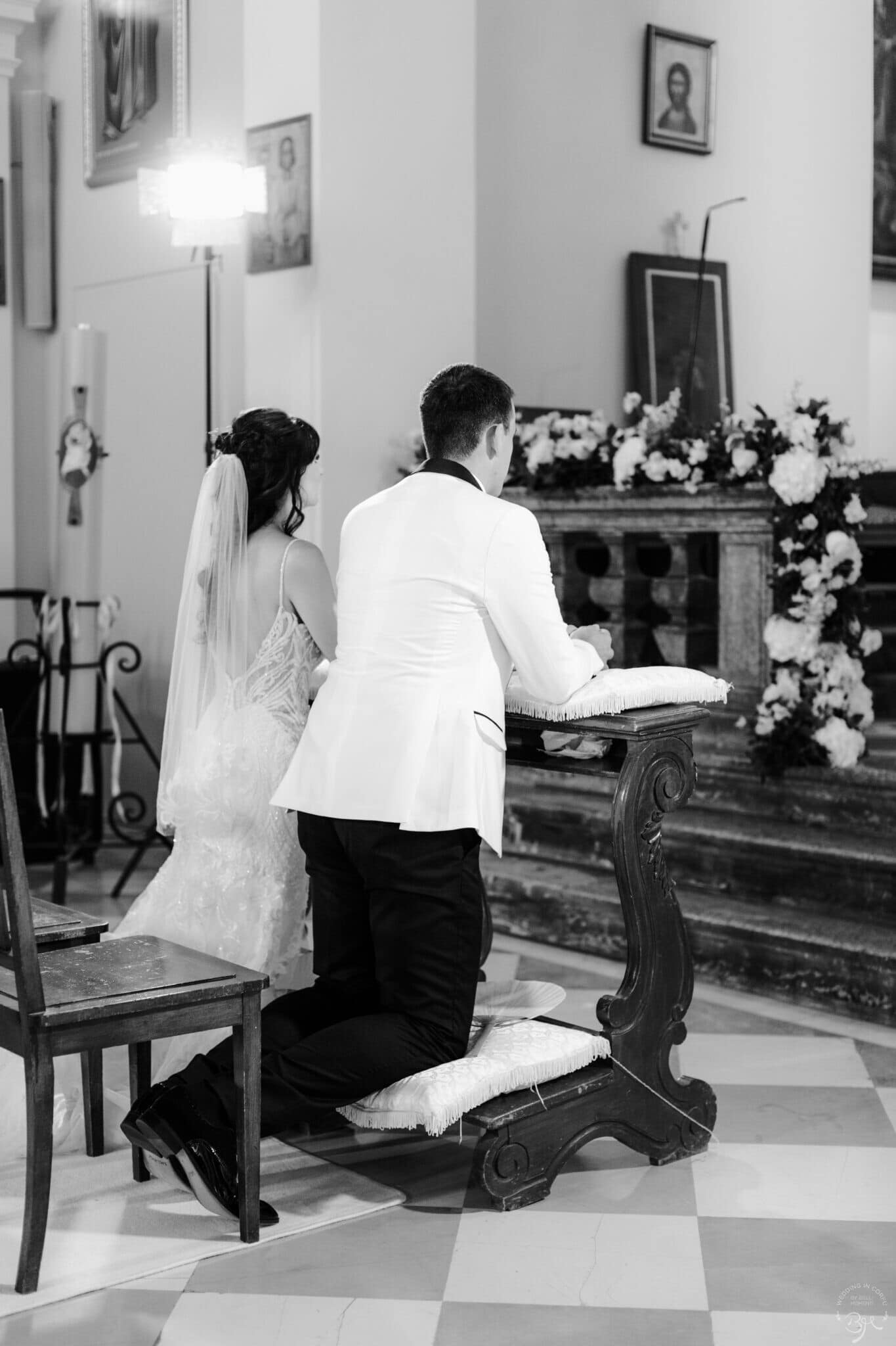 Catholic Wedding Corfu Town